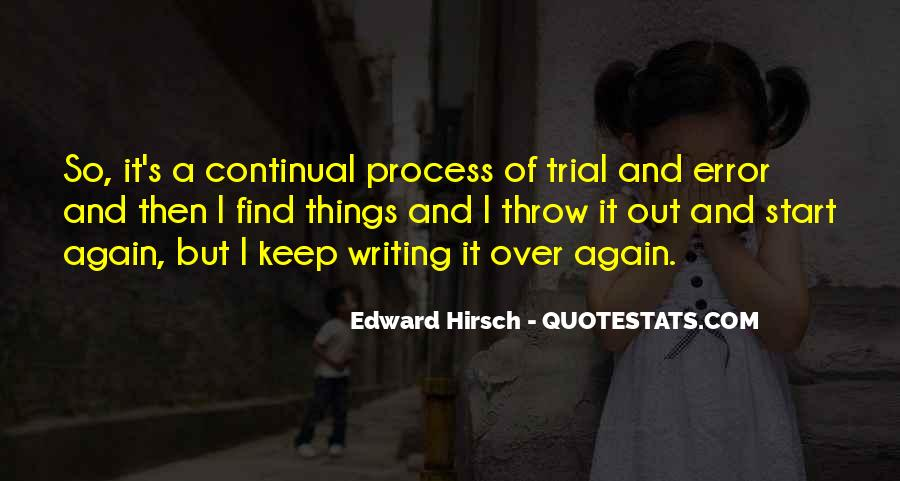 Edward Hirsch Quotes #133750