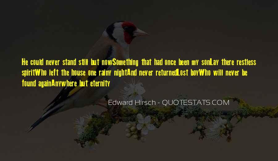 Edward Hirsch Quotes #234920