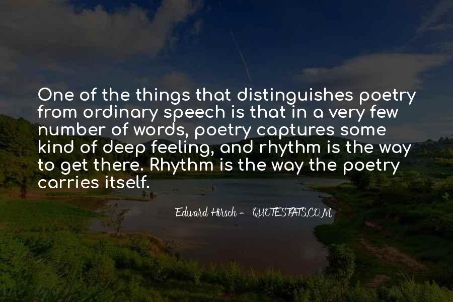 Edward Hirsch Quotes #238729