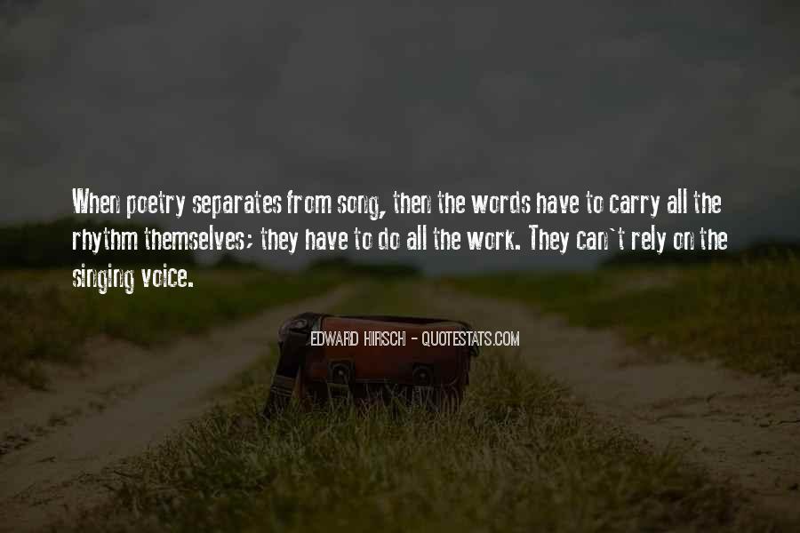 Edward Hirsch Quotes #244395