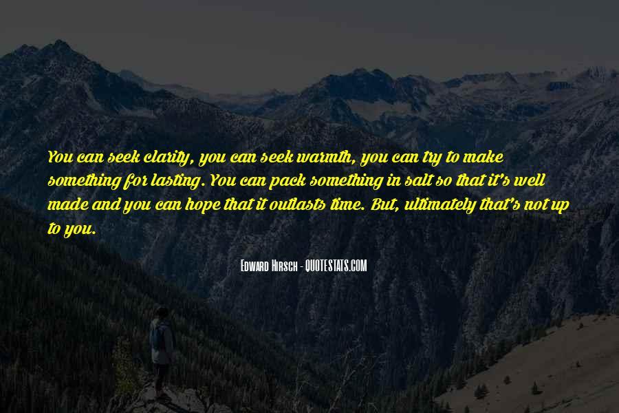 Edward Hirsch Quotes #313702
