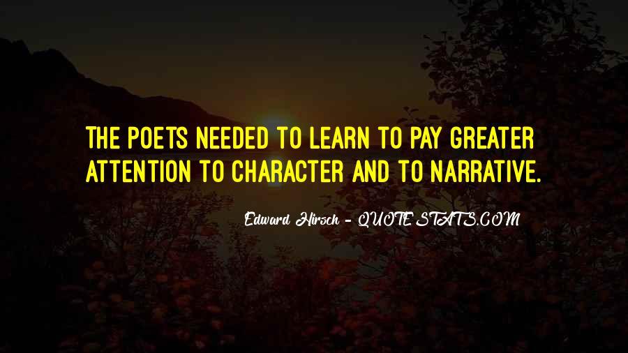 Edward Hirsch Quotes #349942
