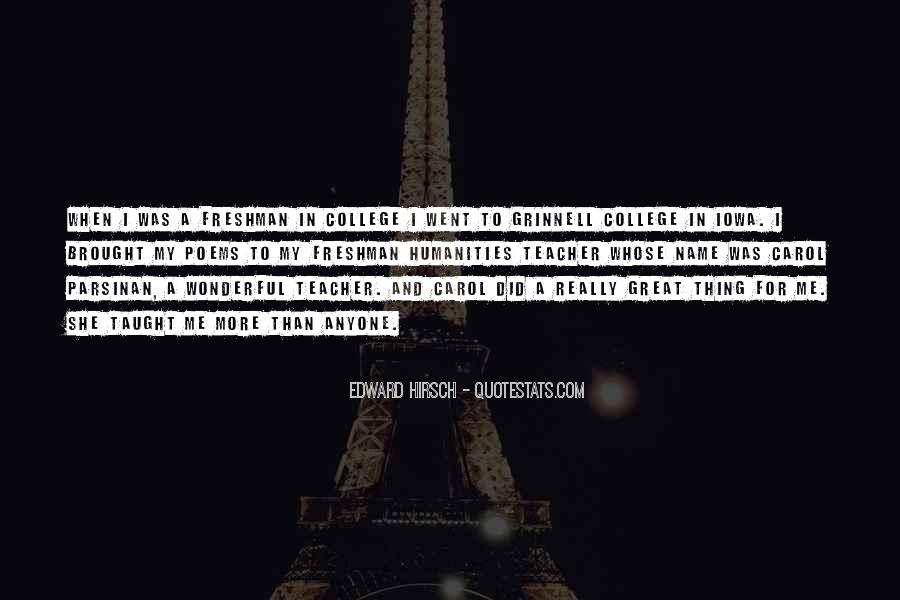 Edward Hirsch Quotes #400705