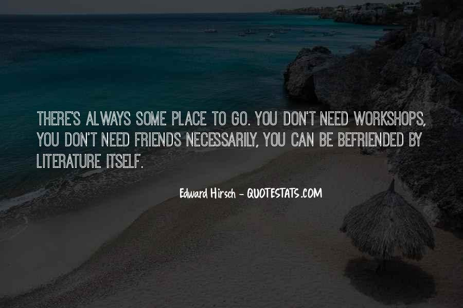 Edward Hirsch Quotes #410983