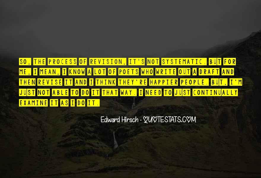 Edward Hirsch Quotes #453090