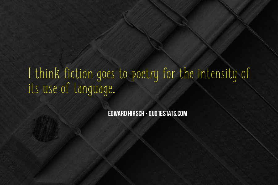 Edward Hirsch Quotes #467098
