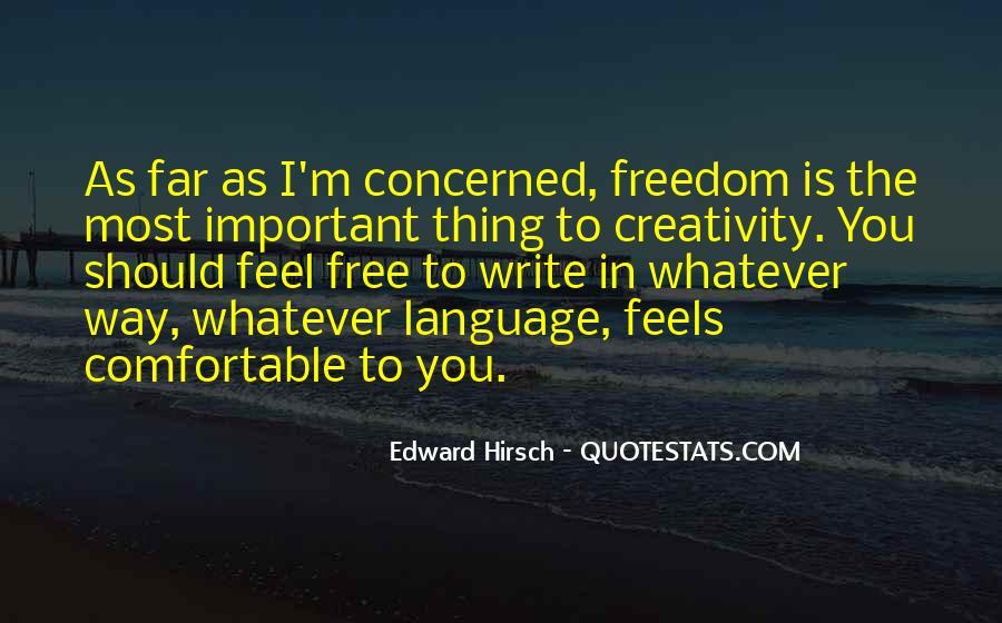 Edward Hirsch Quotes #494830