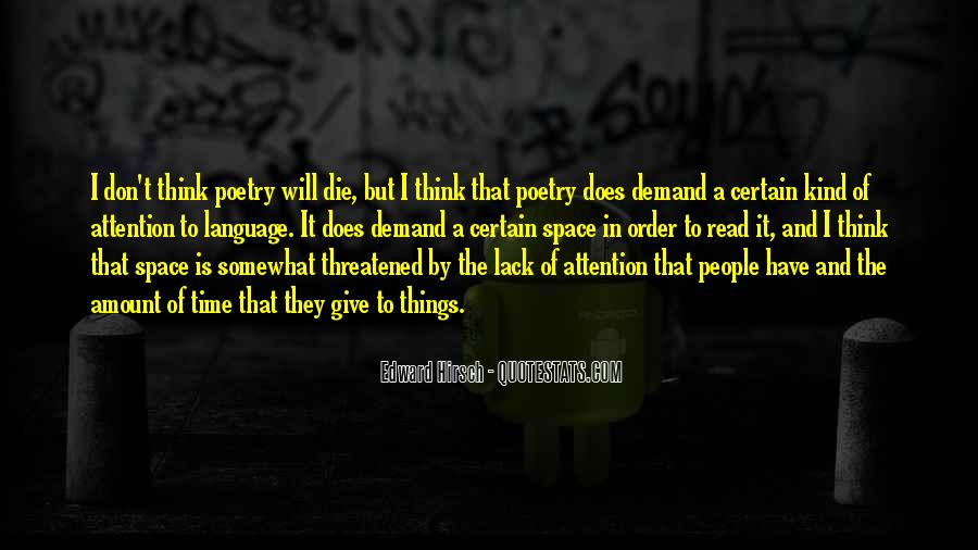 Edward Hirsch Quotes #56506