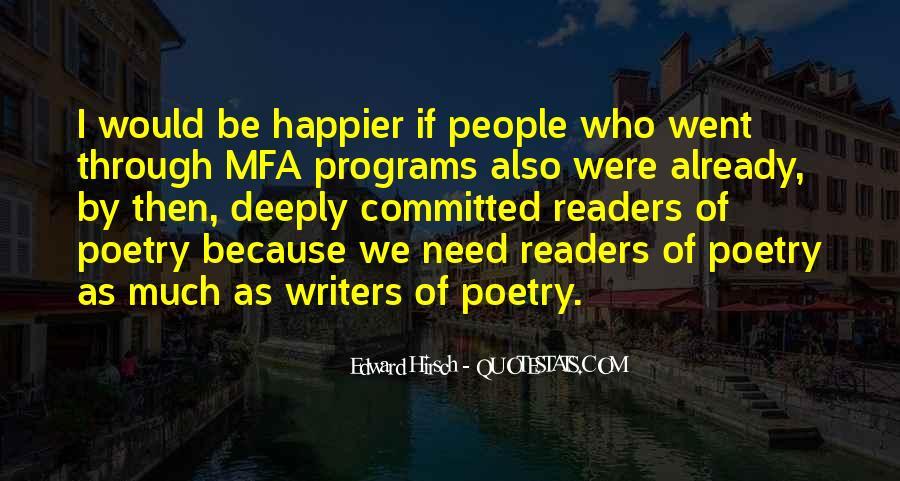 Edward Hirsch Quotes #593004