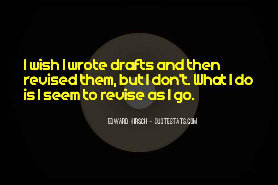 Edward Hirsch Quotes #609016
