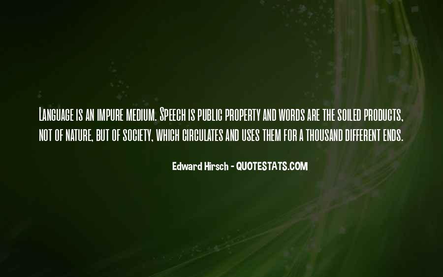 Edward Hirsch Quotes #644125