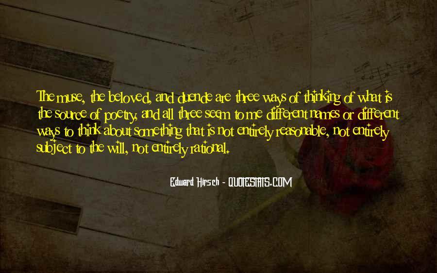 Edward Hirsch Quotes #654486