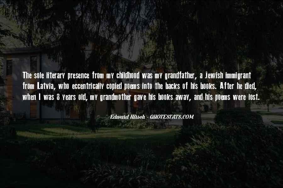 Edward Hirsch Quotes #693937