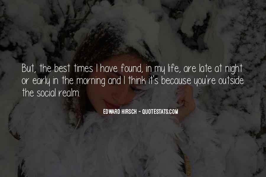 Edward Hirsch Quotes #712293