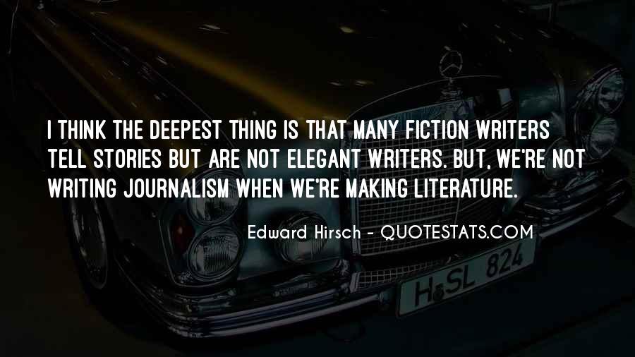 Edward Hirsch Quotes #713459
