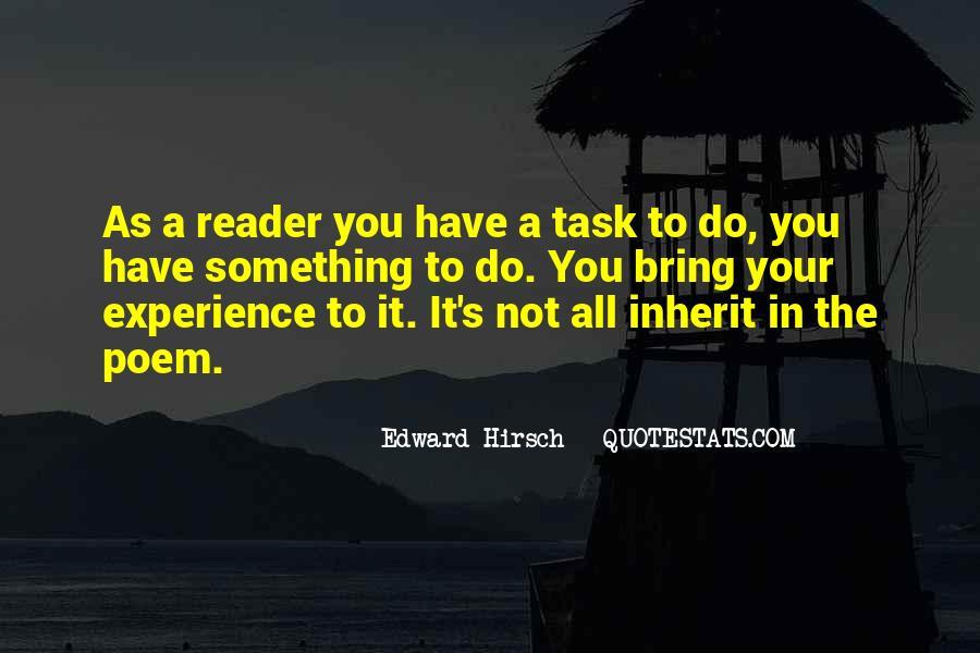 Edward Hirsch Quotes #721046