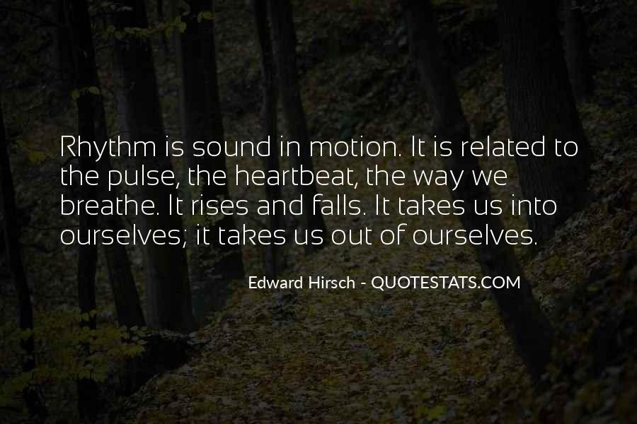 Edward Hirsch Quotes #733375