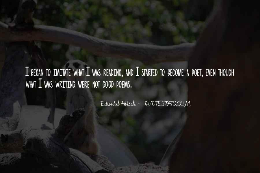 Edward Hirsch Quotes #753127