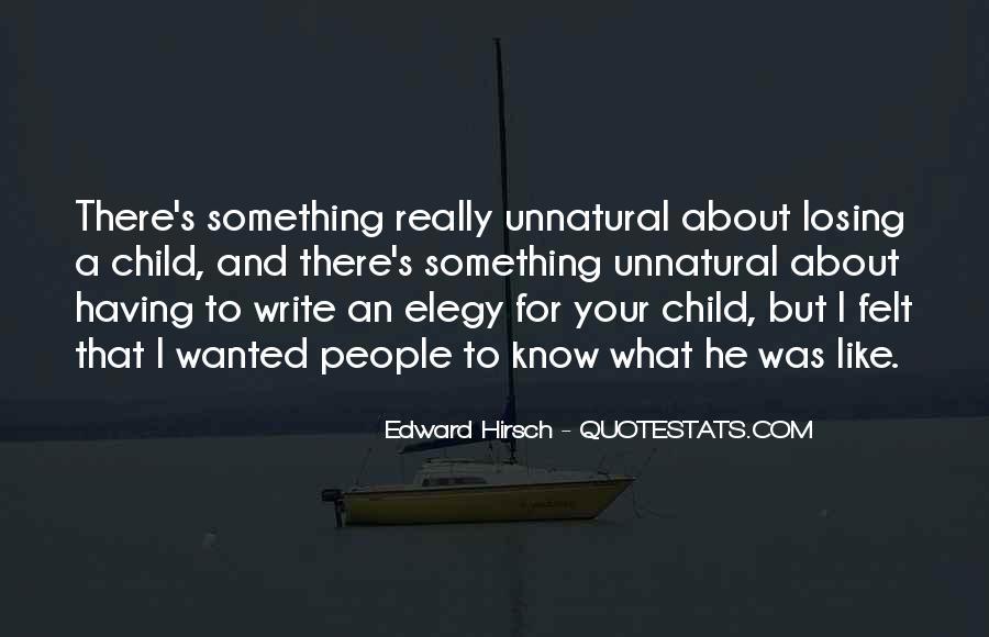 Edward Hirsch Quotes #754787