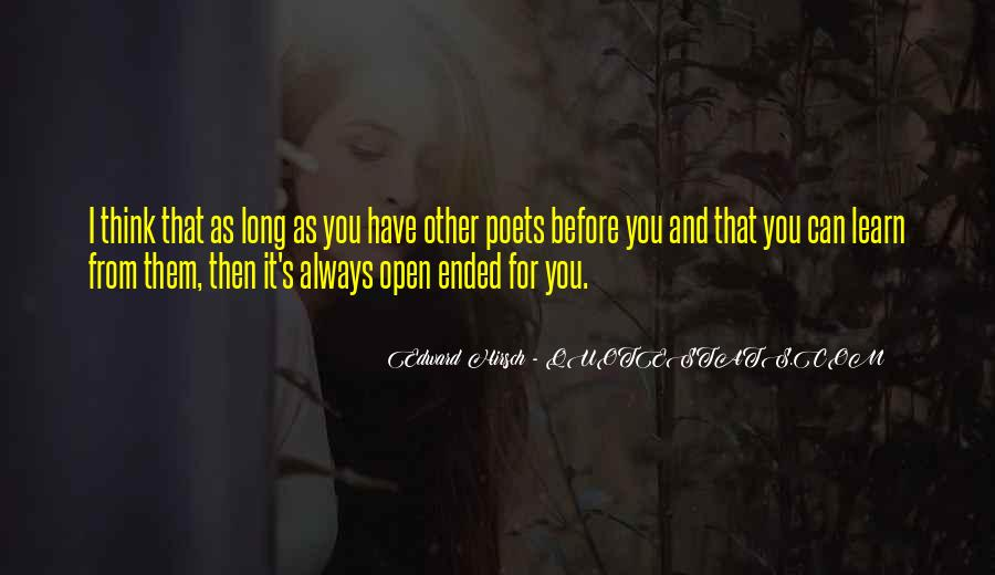 Edward Hirsch Quotes #75562