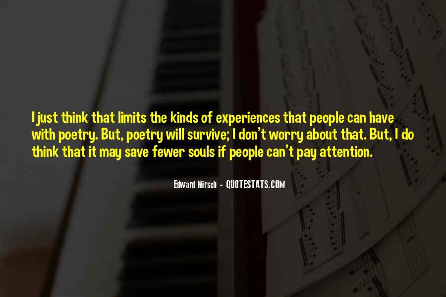 Edward Hirsch Quotes #762368