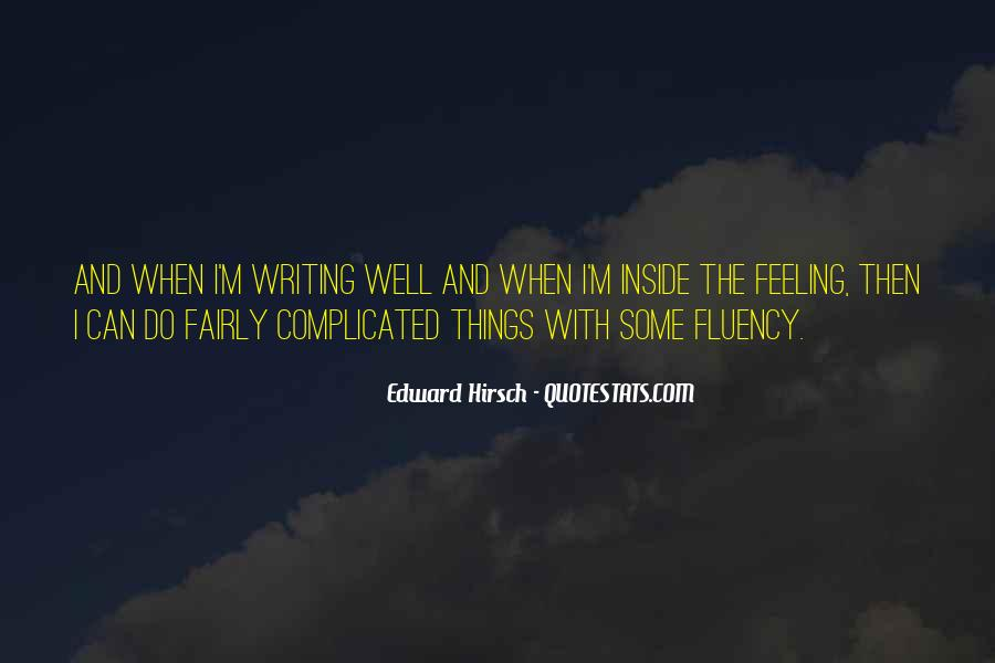 Edward Hirsch Quotes #763630