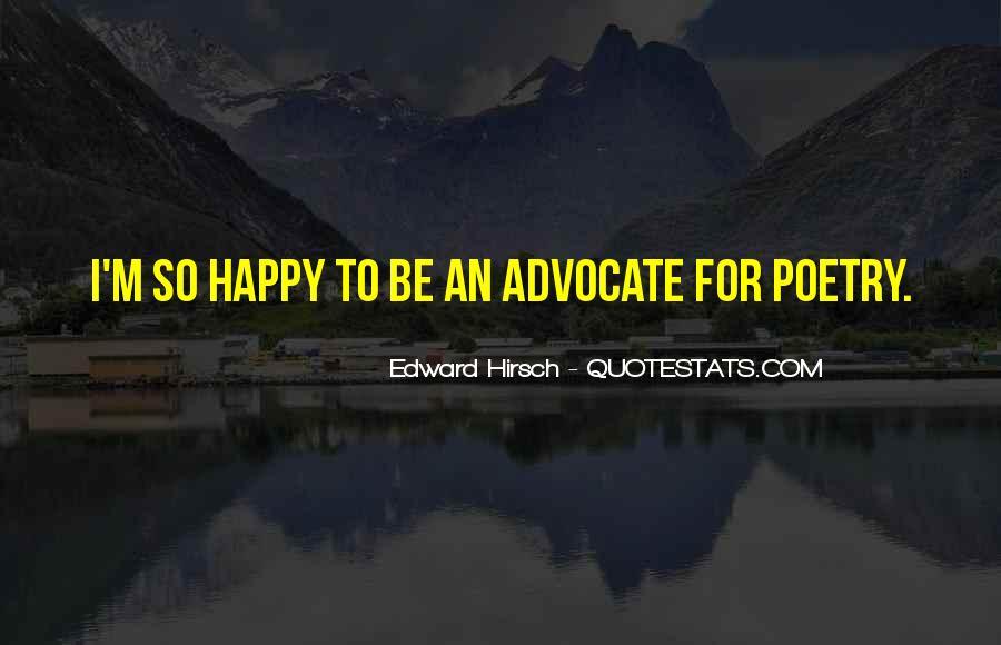 Edward Hirsch Quotes #834160