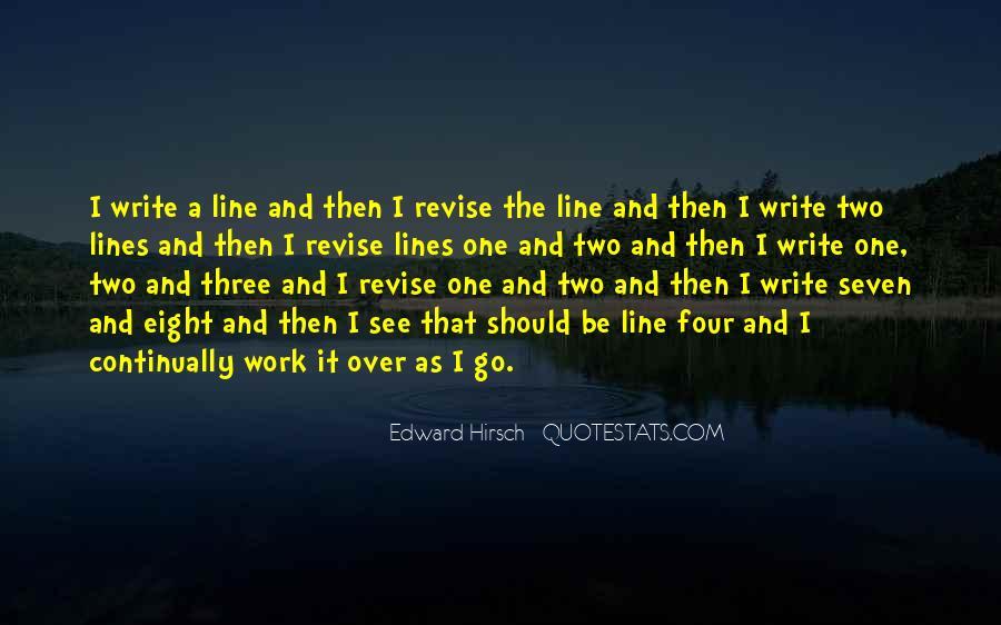 Edward Hirsch Quotes #842188