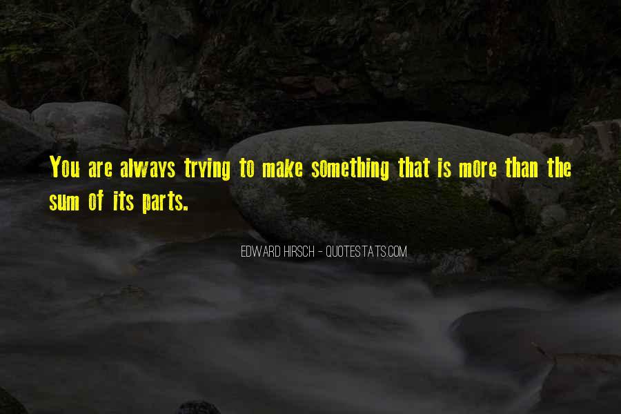 Edward Hirsch Quotes #842552