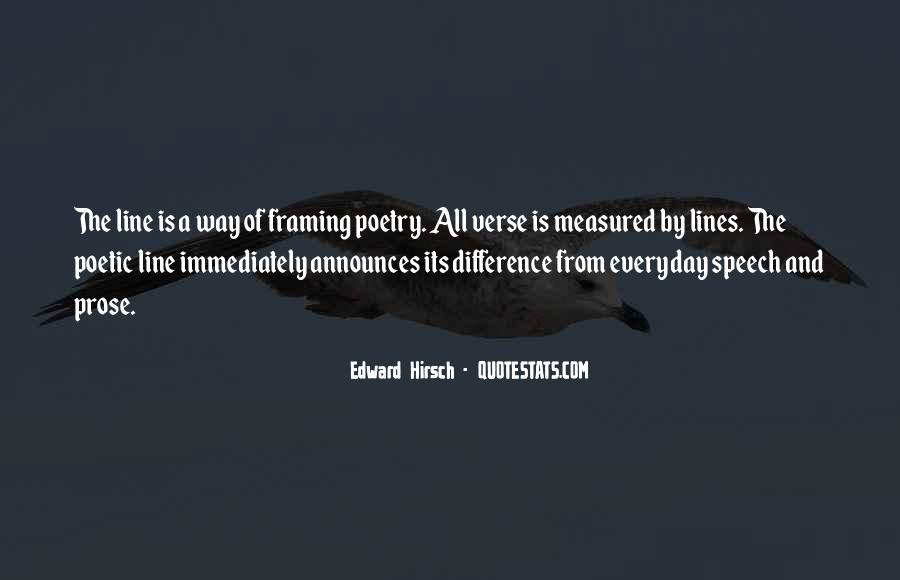 Edward Hirsch Quotes #858999