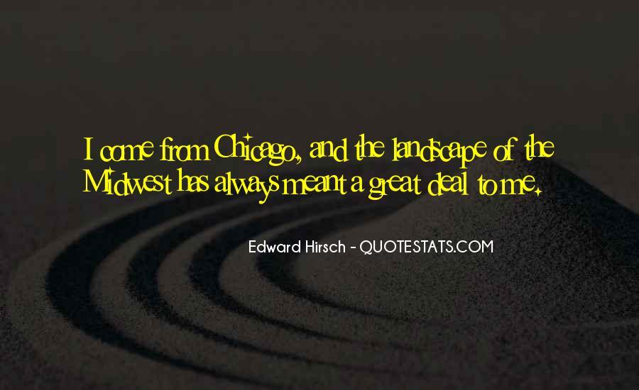 Edward Hirsch Quotes #896560