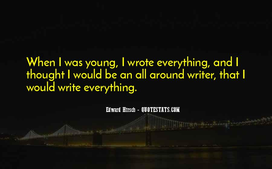 Edward Hirsch Quotes #955976
