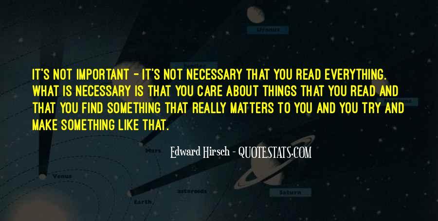 Edward Hirsch Quotes #965048