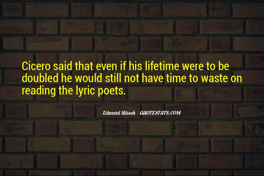 Edward Hirsch Quotes #974684