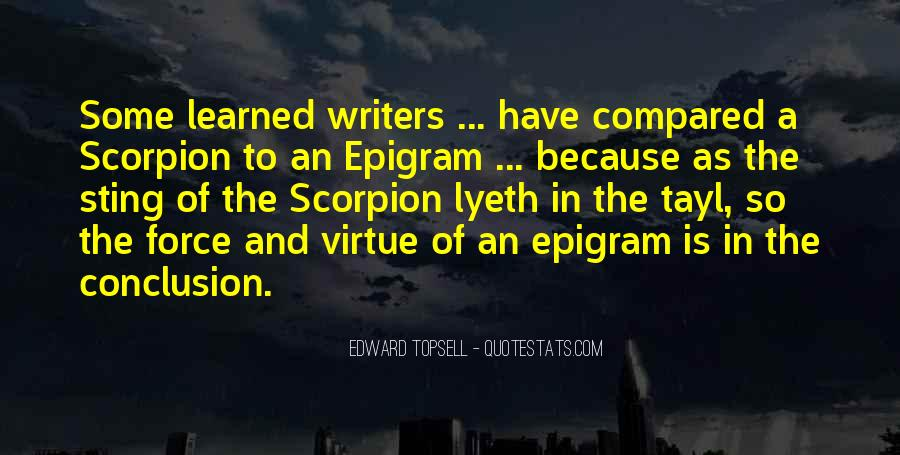 Edward Topsell Quotes #1402779