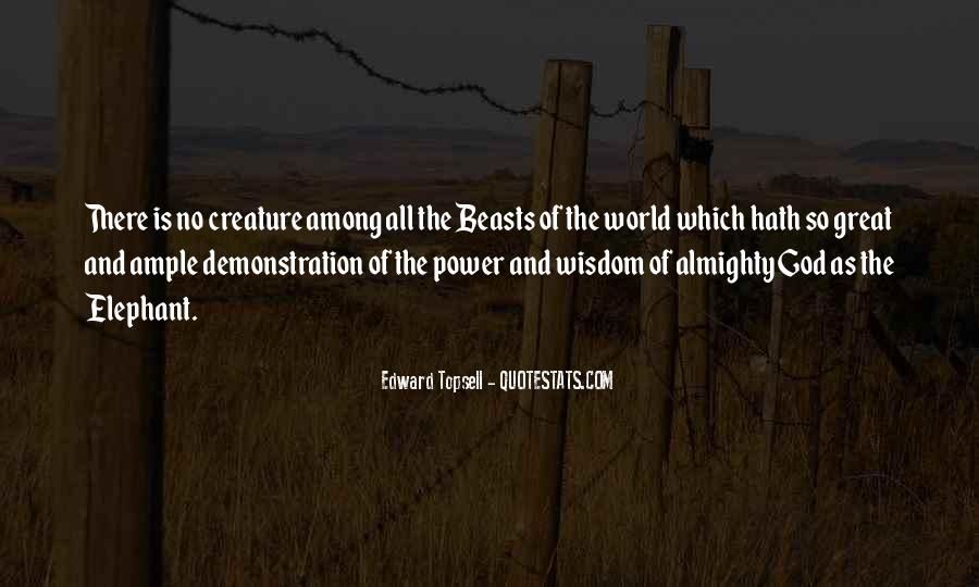 Edward Topsell Quotes #897906