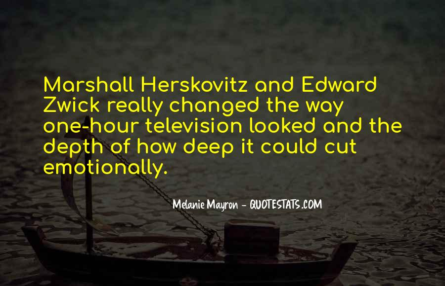 Edward Zwick Quotes #249436