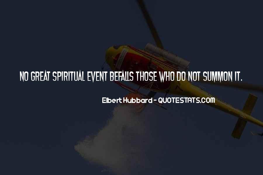 Elbert Hubbard Quotes #246095