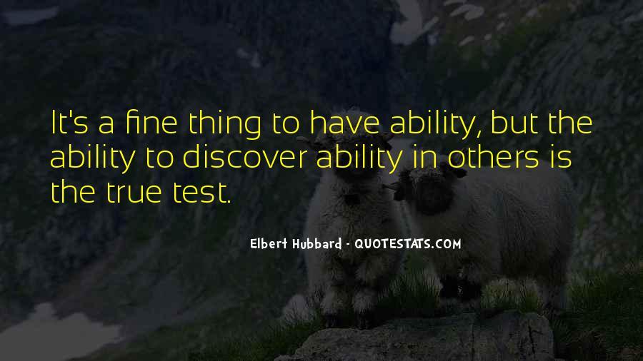 Elbert Hubbard Quotes #355200