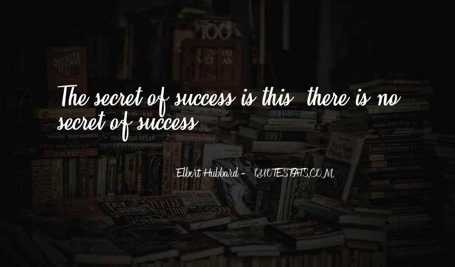 Elbert Hubbard Quotes #49019
