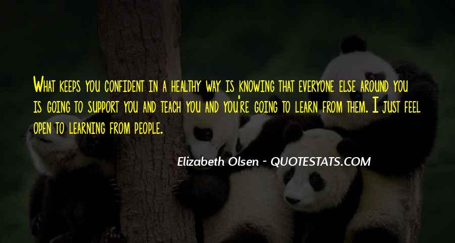 Elizabeth Olsen Quotes #1033297