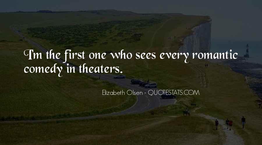 Elizabeth Olsen Quotes #1112322