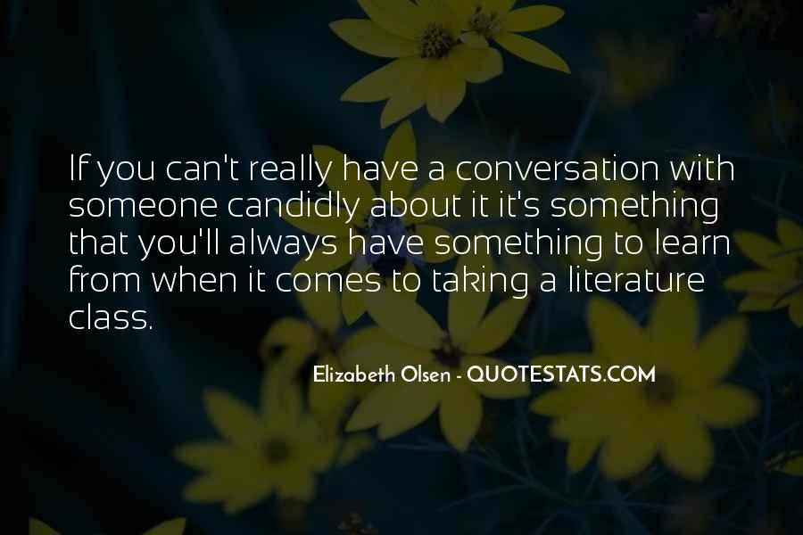 Elizabeth Olsen Quotes #1151768