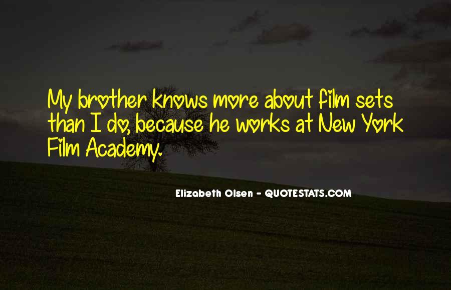 Elizabeth Olsen Quotes #123101
