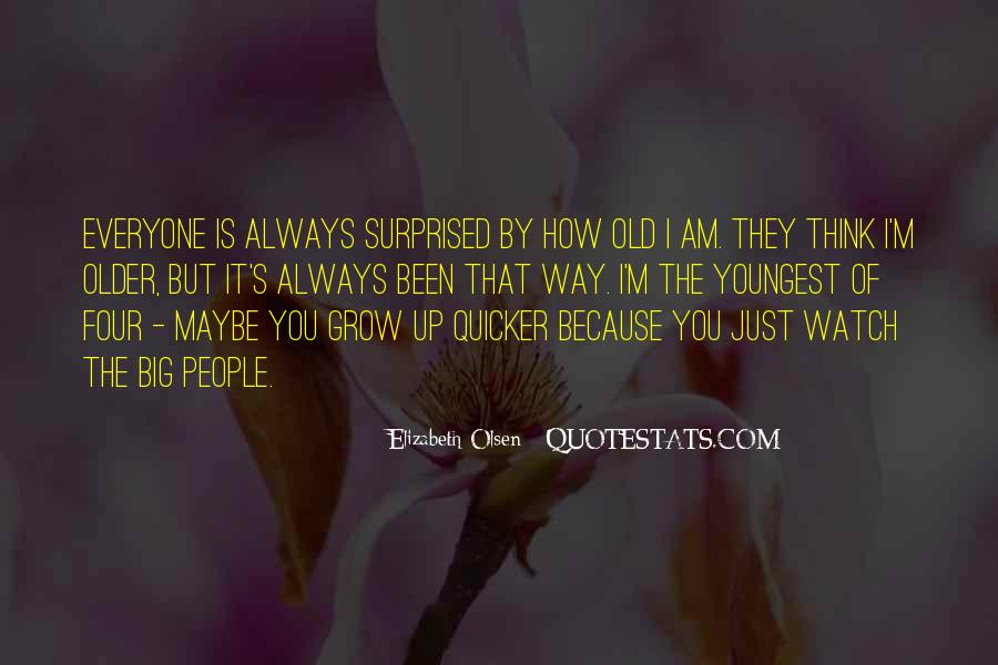 Elizabeth Olsen Quotes #1376693