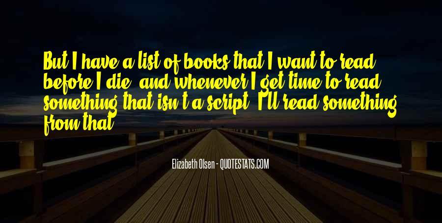 Elizabeth Olsen Quotes #1571265