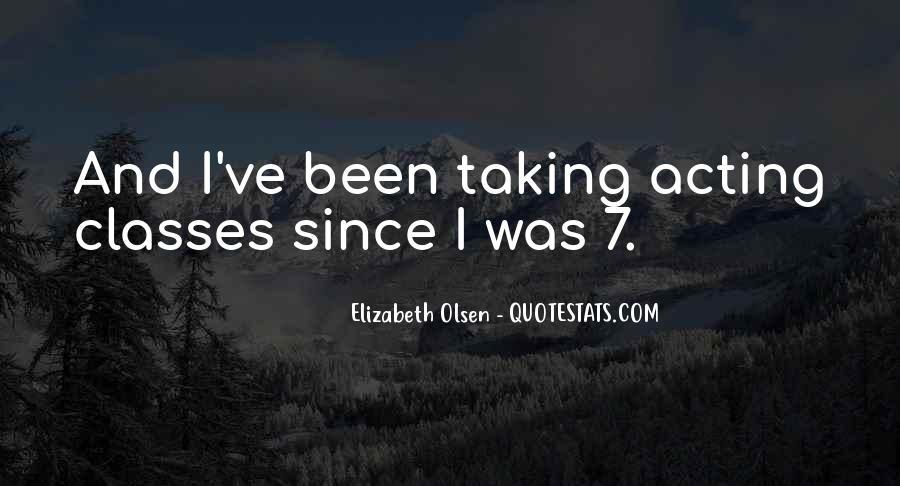 Elizabeth Olsen Quotes #1613412