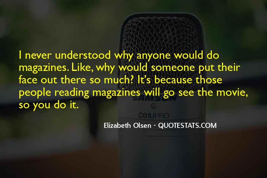 Elizabeth Olsen Quotes #1818171