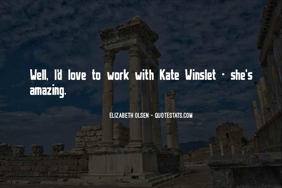 Elizabeth Olsen Quotes #1830812