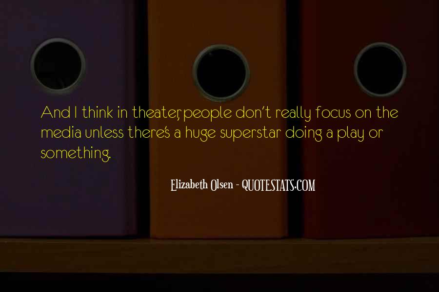 Elizabeth Olsen Quotes #21027